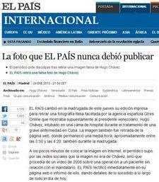 El País foto Chávez