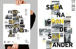 Cartel de la Semana Grande de Santander 2015, retirado por plagio