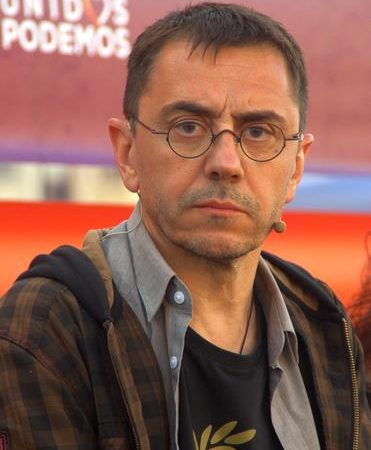 Juan Carlos Monedero, cofundador de Podemos / Foto: (C) David Laguillo