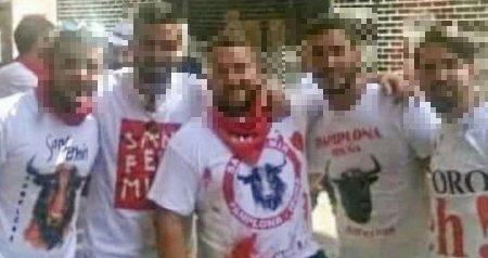 Imagen de los presuntos autores de la violación a una joven en las fiestas de San Fermín / El club de la maldad