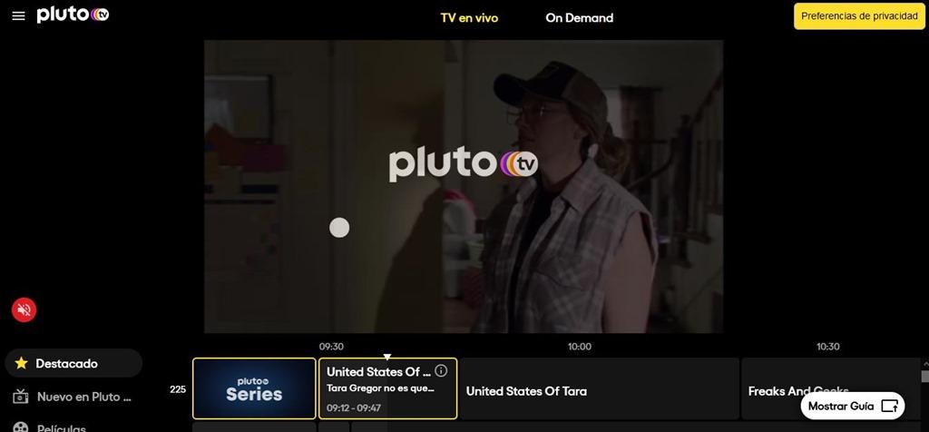 Pluto TV: televisión online gratis, legal y con publicidad